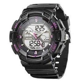 JAGA blink 系列 AD935~AG 黑紅  雙顯錶 防水 1 100碼錶 整點報