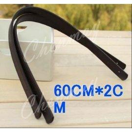 全美~ CM60~2雙邊壓線PU仿真皮提把長度60cm~寬度2cm包包. 袋.環保袋 .拼