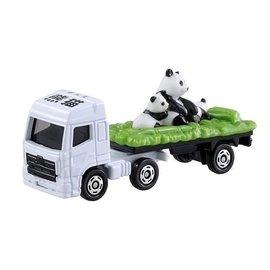 小丸子媽媽 TOMICA 熊貓運輸車 多美小汽車 TM003 動物運搬車 TAKARA t
