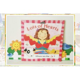 《Lots of Hearts》A Picture Reader,東西圖書/悅讀童書坊☆°╮/英語學習/生活教養/親子共讀/閱讀習慣
