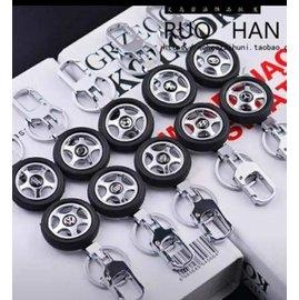 #車廠標誌輪胎鑰匙圈#買鑰匙圈送包裝提袋
