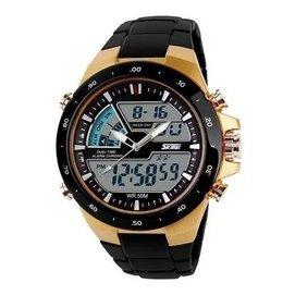 電子雙顯手錶 賣完就沒這個  錶 防水錶 游泳錶 登山錶 男錶 錶 錶 指針錶