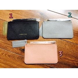 新加坡 Charles Keith 小CK (單層)撥款 手拿包 皮夾零錢包 卡包 手腕化