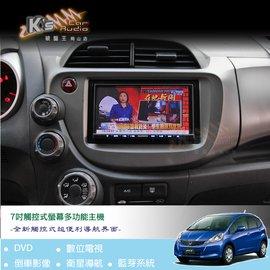 破盤王/岡山╭ 汽車影音導航系統╭ fit crv civic Honda