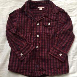 esprit 男童長袖襯衫2~3y(客訂 )