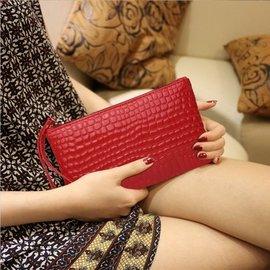 買一送一 送卡套 紅色石頭紋手拿包手拿包小包包錢包蛇紋手拿包糖果包糖果手拿包另售卡位卡包長