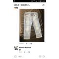 zara圖騰牛仔褲
