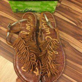 Sam Edelman推出 夏天的羅馬涼鞋 很搶眼呦!6.5號 23.5cm