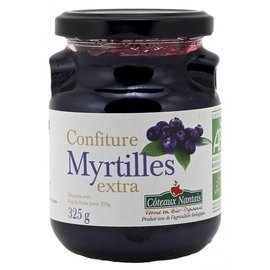 ☆Bonjour Bio☆ 法国 COTEAUX NANTAIS 有机果酱 蓝莓