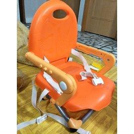 ~chicco ~奇哥Pocket snack攜帶式輕巧餐椅座墊~橘