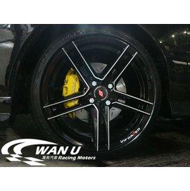 ~萬有汽車輪胎鋁圈中心~北德文 INFORGED IFG~33 五芒星旋壓輕量化雙色鋁圈1