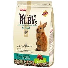 PANTOP 邦比 ~ 莊園寵物兔糧  蔓越莓 綜合野菜   高纖除臭配方  2.5kg