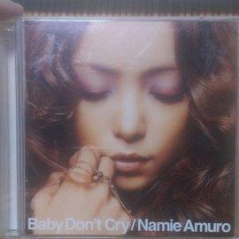 日版 安室奈美惠 Baby don t cry CD DVD