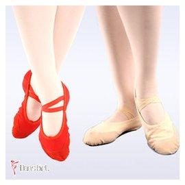 芳之舞正品教師鞋 舞蹈老師肚皮舞鞋子練功 高跟帆布鞋女芭蕾舞鞋