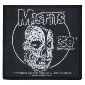 ~陰府門~MISFITS 官方  金屬 搖滾樂團 布章 9.7~9.2cm