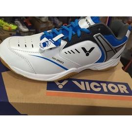 ◇羽球世家◇【寬楦鞋】勝利 SH 501 羽球鞋 藍白全面型 VICTOR 專業羽球鞋《促銷1280元》
