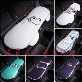 汽車後排坐墊卡通單片長條四季 座墊無靠背可愛汽車內飾用品
