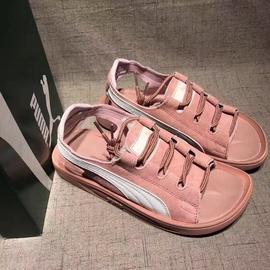 PUMA Popcat Swan 凉鞋 彪马拖鞋 休闲运动鞋 麂皮凉拖鞋 情侣鞋