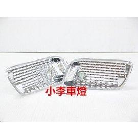 ~李A車燈~ 外銷 件 賓士BENZ W210 95~01年 美規保桿 前保桿晶鑽側燈組