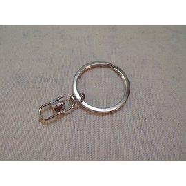 G-041 鑰匙圈+8字扣 DIY飾品配件 五金鑰匙鏈掛件 扁圈 五金配件 鑰匙環 包包配件 飾品配件扣 寵物鏈配件