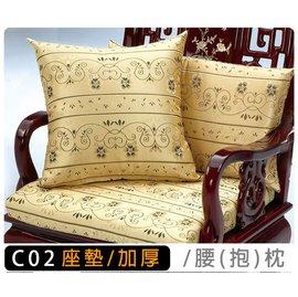 原木椅系列金喜藤花 編號C02