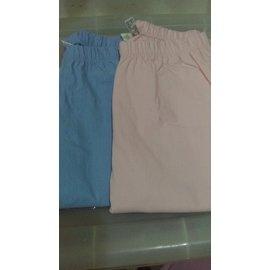 ~ ~Lativ~彈力顯瘦~窄管褲 M 女 藍 粉紅