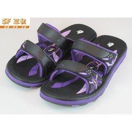 森林宝贝屋~超取免运~GP~三帆系列~紫色休闲套拖~柔软~舒适~平底拖鞋~ 海滩鞋~SF拖鞋~S7490W-41