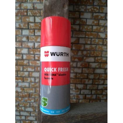 貨中文標 WURTH 福士 QUICK FRESH 消除車內異味 車輛空調系統清潔劑車