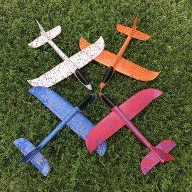 EPP泡沫手擲機手飛機泡沫飛機兒童投擲滑翔機玩具模型 大飛機 手擲飛機 47~48cm 手