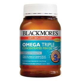 澳佳寶Blackmores Omega Triple Fish Oil_3倍_加強型無腥味