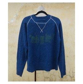 楹 ~ 正品 Levi's 蓝色 羊毛毛衣 size: L
