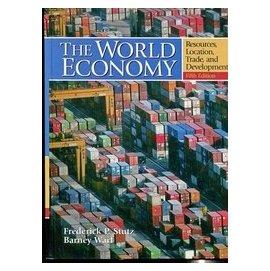 ~語宸 XC858~~The World Economy~資源  貿易與發展~五版~013