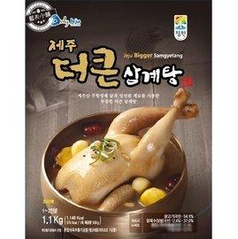 藍天小舖  店面~  出貨 韓國 濟州島 大王 蔘雞湯1.1公斤 蔘雞湯
