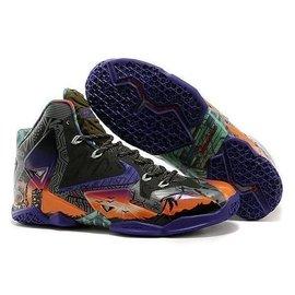 限量NIKE AIR MAX LEBRON XI 11 XDR詹姆士11代概念涂鸦中高筒篮球鞋避震运动鞋跑步鞋