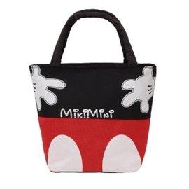~ ~可愛帆布 手提包,卡通小清新迷你 袋、小號袋飯便當包