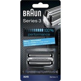 百靈 BRAUN 複合式刀頭 刀網匣 刮鬍刀 刀網 刀頭 32S 銀色 3090cc 35