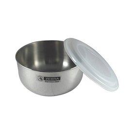 ZEBRA斑馬牌不鏽鋼保鮮碗調理碗調理鍋14cm 加高型 附密封上蓋便當盒