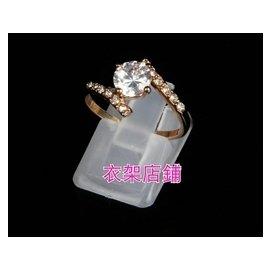 衣架店鋪 透明戒指座 戒指展示片 塑膠座 戒指勾 展示架 飾品架 戒指環 放置拍照 櫥櫃