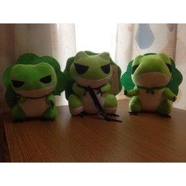 旅行青蛙 娃娃 玩偶 玩具 絨毛 蛙 帽 葉 夾娃娃 娃娃機