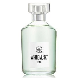 超 @@~美體小舖THE BODY SHOP 綠麝香晨露淡雅香水 WHITE MUSK L