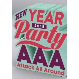 ~附明信片~AAA NEW YEAR PARTY 2018  DVD  AAA 2017~