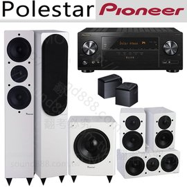 Pioneer VSX~LX102~B 7.2聲道擴大機 AL~520 AL~C50 AL