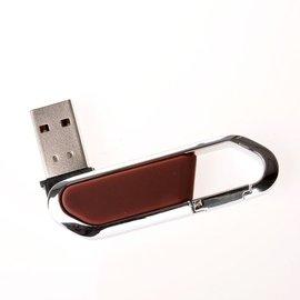 優速快購~酷玩街登山扣隨身碟8g鑰匙扣 迷妳旋轉金屬 可刻字定制LOGO