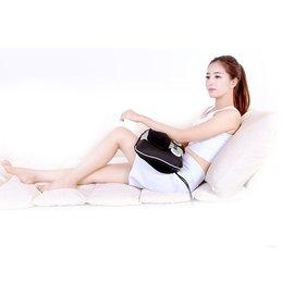 優速快購~頸椎按摩器頸部腰部肩部按摩枕多 家用靠墊全身椅墊~ 科技