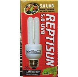 美國ZooMed 紫外線UL燈5.0 迷你型 13w 紫外線燈 兩棲爬蟲