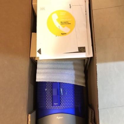 周年慶精選~Dyson Pure Hot + Cool HP01 整新品空氣清淨涼暖氣流倍增器 藍色最後數量 非hp02