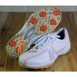 ECCO愛步高爾夫女鞋高爾夫鞋女款高爾夫球鞋防水固定釘