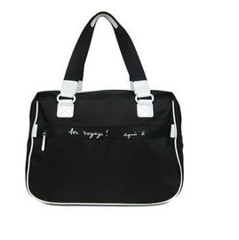 agnes b. VOYAGE 系列 手提包 肩背包 旅行袋(黑) 全新可面交 市場最低價