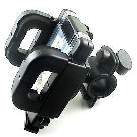 自行車用 PDA PSP GPS車架 40~110mm油壓式360度車架 塑膠自行車把固定架