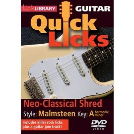 ~Lick Library系列~Neo~Classical Shred ~ Quick L